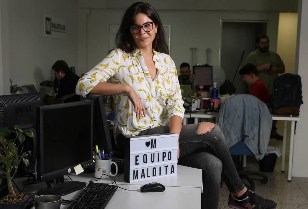 Clara Jiménez Cruz, cofundadora de Maldita Hemeroteca y Maldito Bulo.
