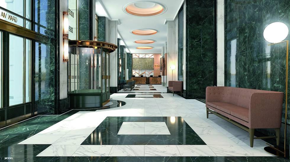 Un hotel al estilo 'vintage' en el Edificio España
