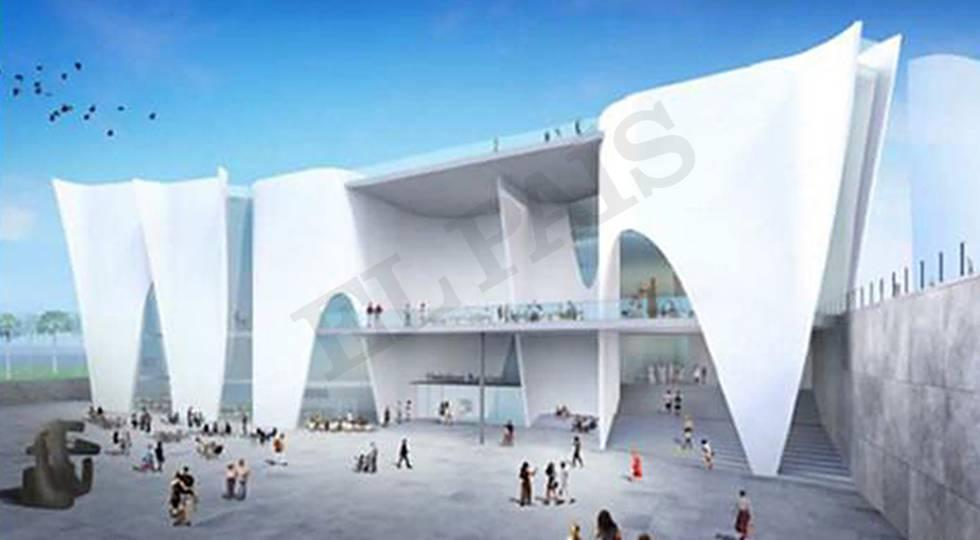 Toyo Ito diseña el edificio del Hermitage de Barcelona