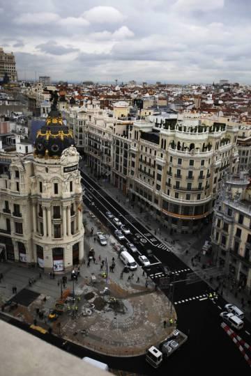 La Nueva Gran Vía De Madrid En Datos Madrid El País