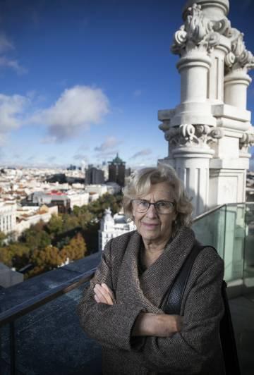 """b0c156d8b5 Manuela Carmena: """"Los discursos de los políticos son infantiles ..."""