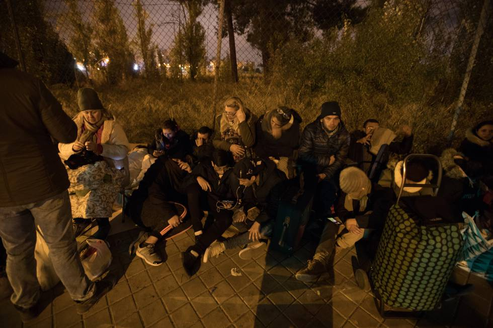 Asylum seekers in Spain: Only one in four asylum requests