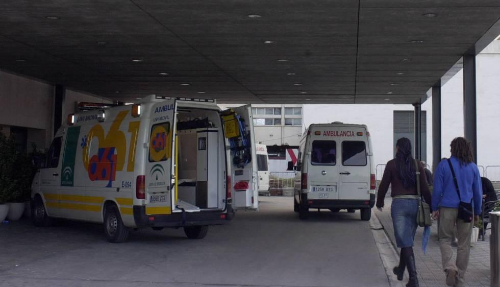 Ambulancias del servicio de Emergencias de Andalucía.