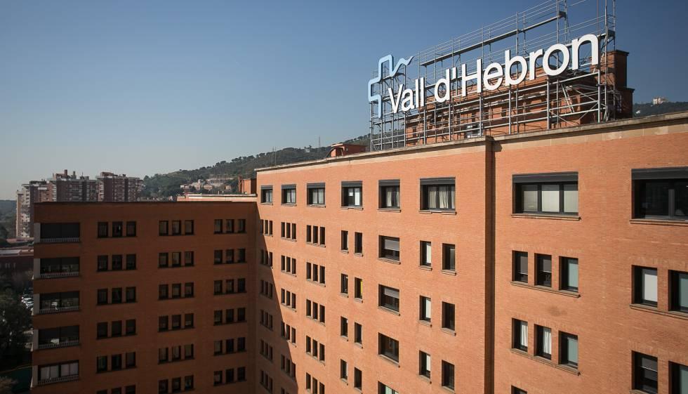 El hospital Vall d'Hebron.
