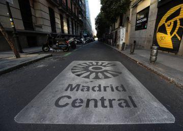 e2cbe872489c2 Las emisiones contaminantes se reducen un 38% en Madrid Central