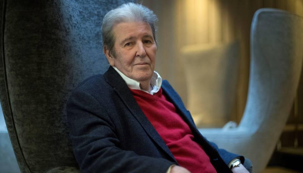El editor Jorge Herralde, en Barcelona.