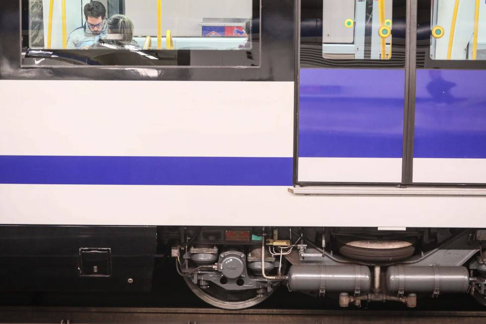Un vagón del Metro de Madrid, en una imagen de archivo.