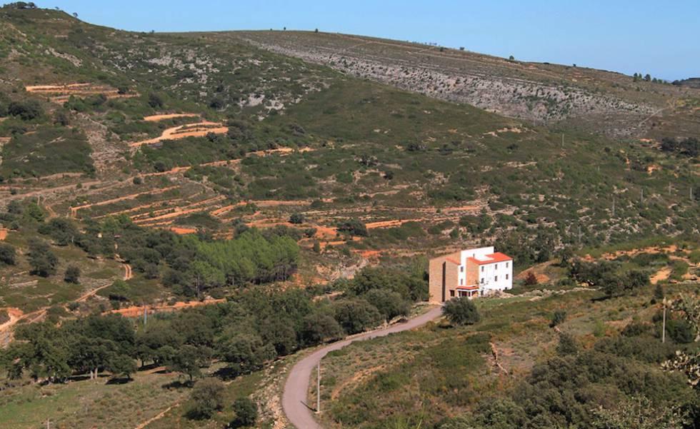 El albergue destinado a espacio 'coworking' Ruralco, que se abrirá en verano.