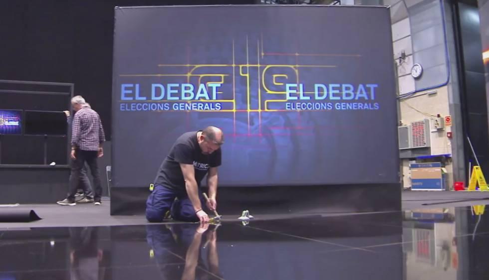 Así será el debate de TV3 entre los seis candidatos catalanes al 28-A