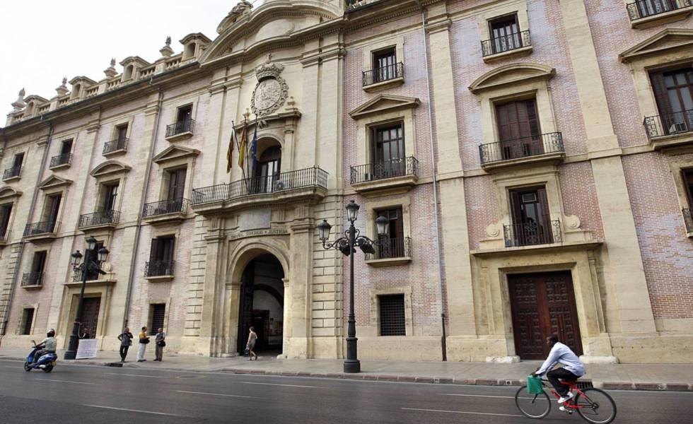 La sede del Tribunal Superior de Justicia valenciano.