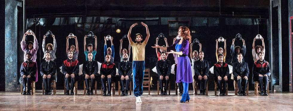 Imagen promocional de Billy Elliot, el musical, en el Teatro Nuevo Alcalá.