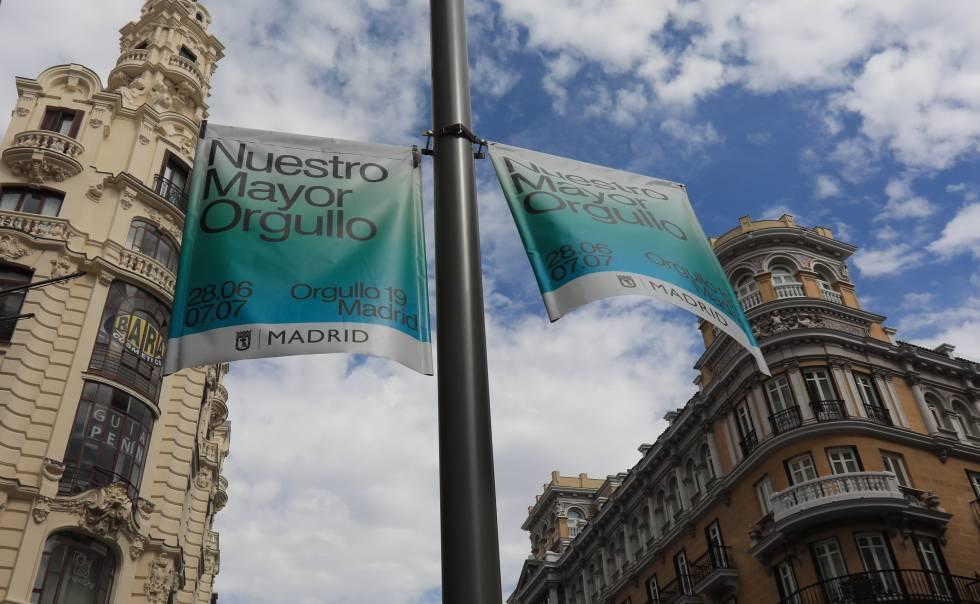 El Ayuntamiento de Madrid censura parte de la campaña del Orgullo
