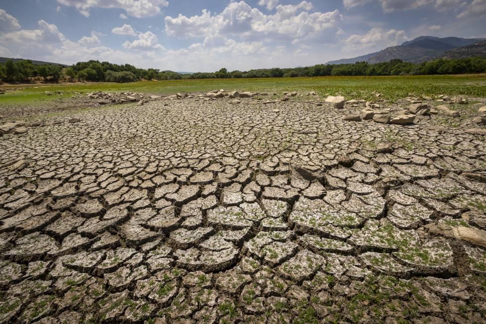 El Parque Nacional del Guadarrama sufre las consecuencias de la sequía, el pasado jueves.