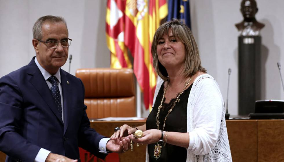 Resultado de imagen de Núria Marín presidenta de la diputació de Barcelona