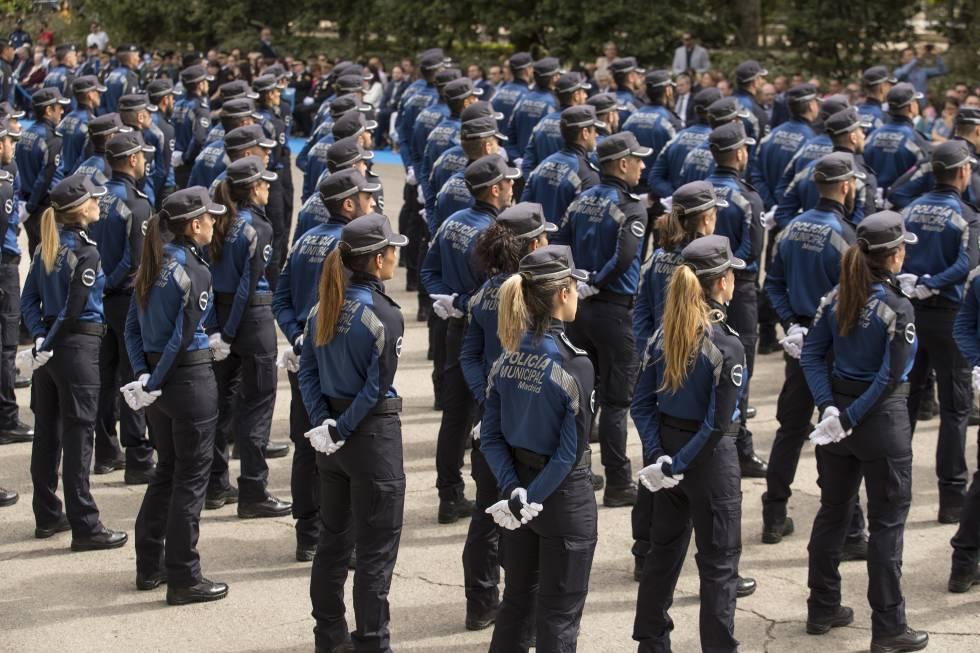 Madrid Se Queda Sin Policias Municipales Madrid El Pais
