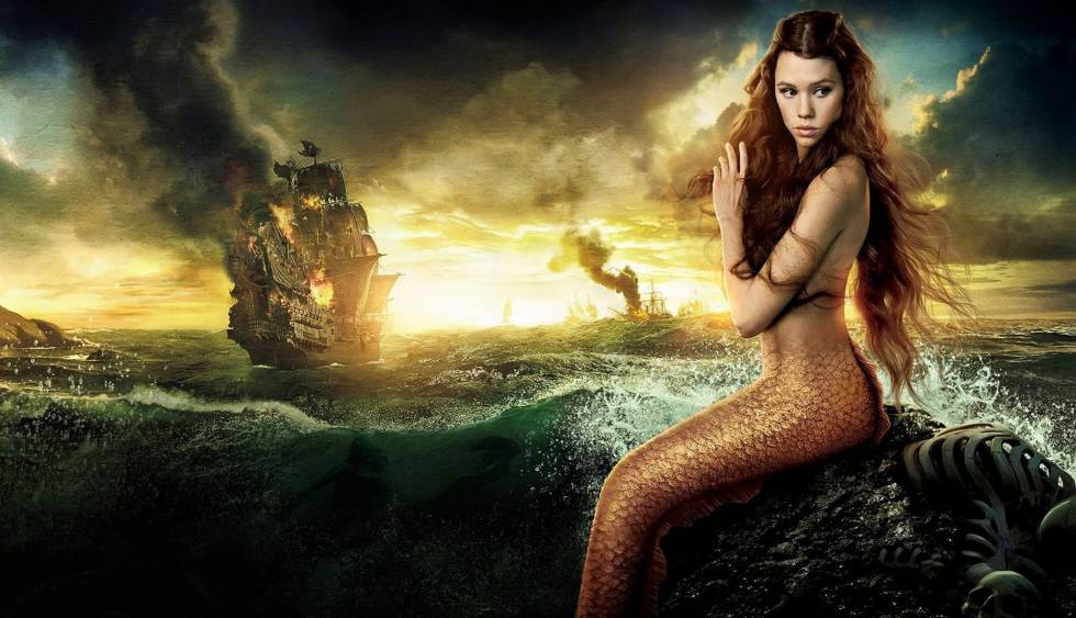Mi sirena es preciosa y misteriosa y peligrosa y desbordante de encanto y magia.