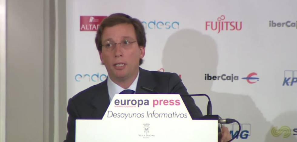 Almeida anuncia que peatonalizará al completo la Puerta del Sol