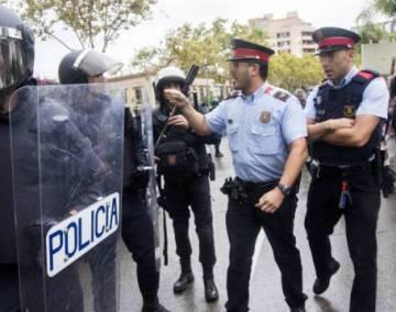 Los Mossos se abren a usar gas pimienta ante un otoño de protestas