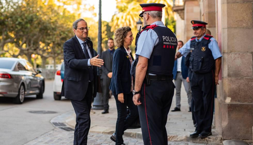 Ni Torra ni Colau comparecen durante el nuevo episodio de violencia en Barcelona