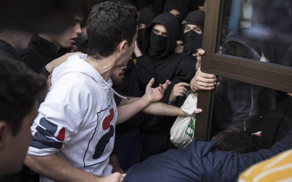 protestas sentencia del proces