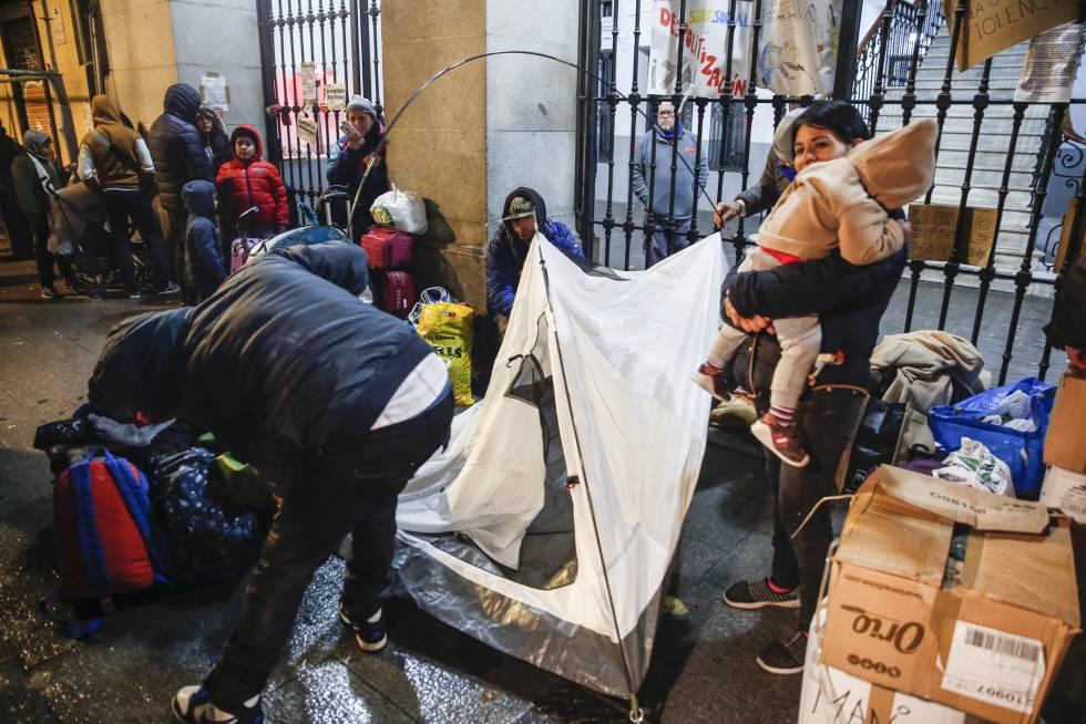 refugiados madrid