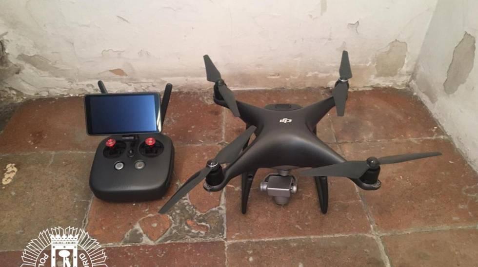Dron Plaza Mayor