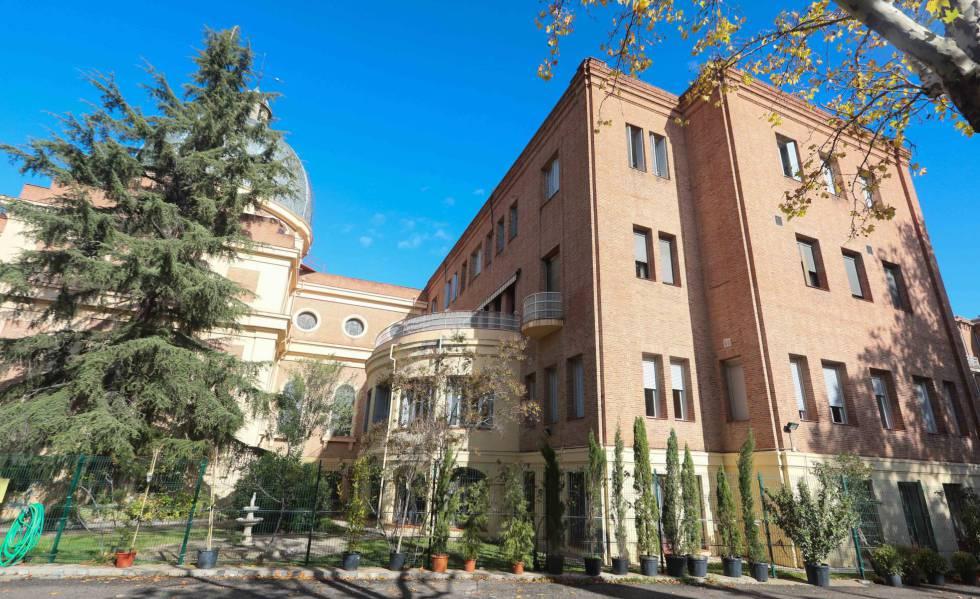La residencia de ancianos, ubicada en los alrededores del Bernabéu.
