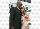 Paz Vega introduce a Morgan Freeman en