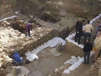 Descubierta la primera casa en nazaret de la poca de for Casas de la epoca actual