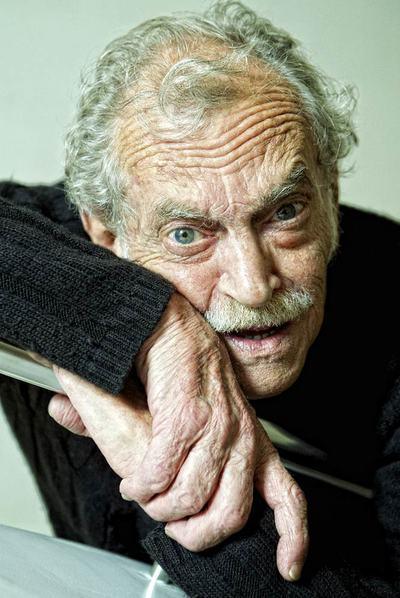 El escritor Rodolfo Fogwill, esta semana en Madrid.