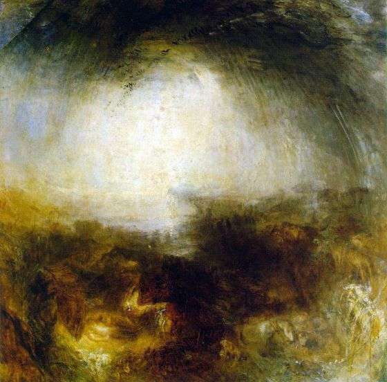 'Shade and Darkness', de Turner.