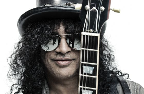 El guitarrista Slash