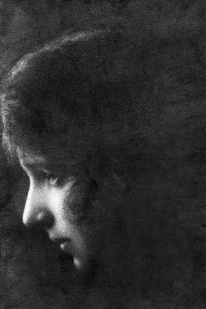 María Zambrano en los años veinte, en Unturbe (Segovia).