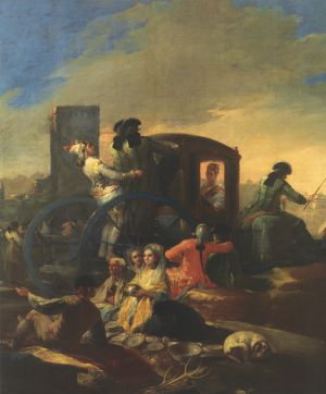 'El cacharrero' (1778), de Francisco de Goya, expuesto en el Museum of Fine Arts, de Houston.
