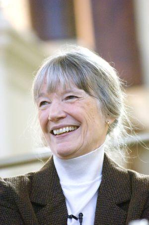 La escritora estadounidense Anne Tyler.