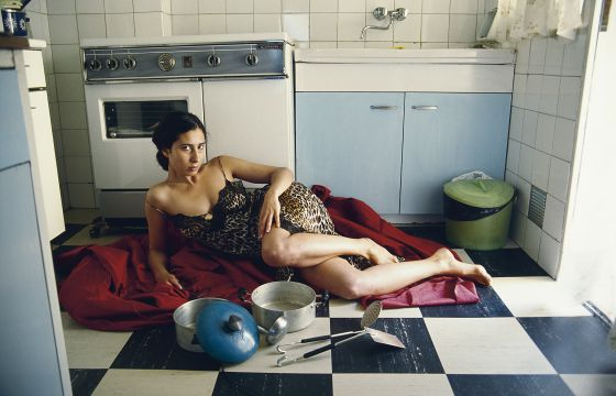 'Si te quise V' (1995), fotografía que protagoniza la artista Laura Torrado.
