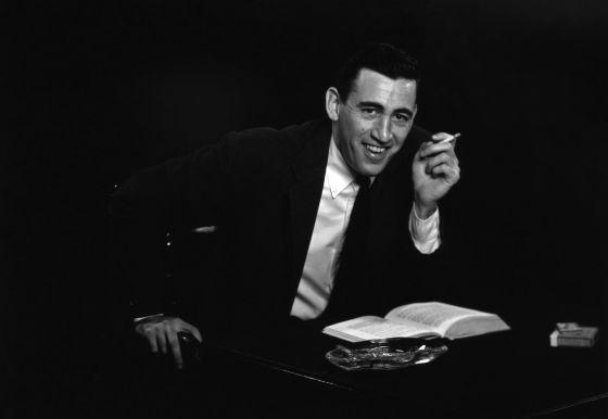 Retrato de J. D. Salinger realizado por Anthony Di Gesu en Nueva York en 1952.