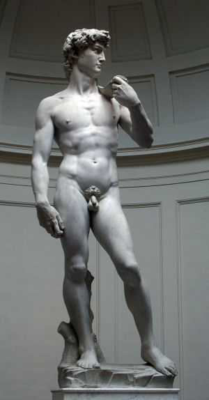 'David', de Miguel Angel Buonarroti.