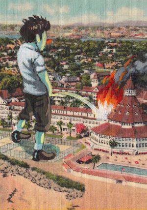 Resultado de imagen de Gulliver hace pipi y apaga el fuego