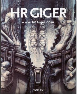 Portada de 'www HR Giger com' (Taschen), compendio biográfico y artístico de la carrera del artista suizo.