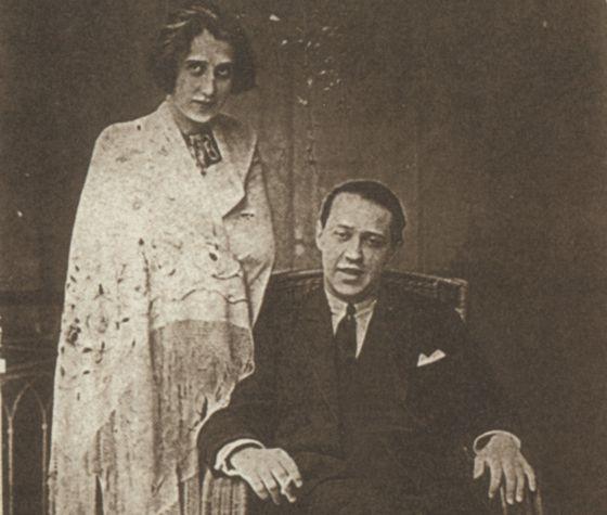 El escritor húngaro Sándor Márai y su mujer, Lola Matzner, en 1923.
