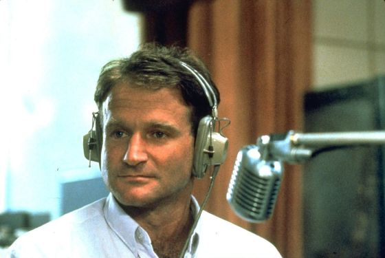 Robin Williams, en la película 'Good Morning Vietnam', de 1987.