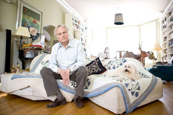Richard Dawkins, en su domicilio de Oxford durante la entrevista.