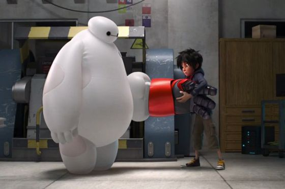 Un fotograma de 'Big Hero 6'.