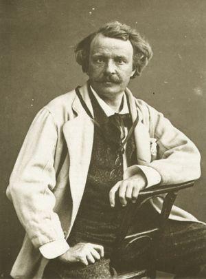 Autorretrato de Gaspard-Félix Tournachon, llamado Nadar (h. 1865).