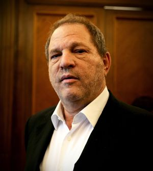 El productor y distribuidor de cine Harvey Weinstein, en Madrid.