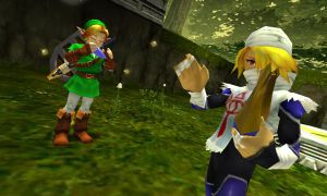 Imagen de 'The legend of Zelda. Ocarina of time'.