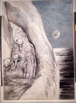 Ilustración de William Blake para 'La divina comedia', de Dante.
