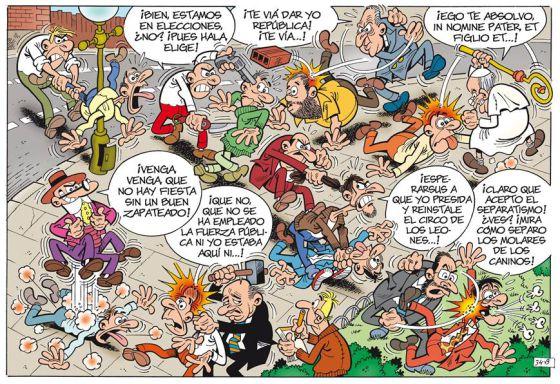 Nuevo comic de Mortadelo y Filemon