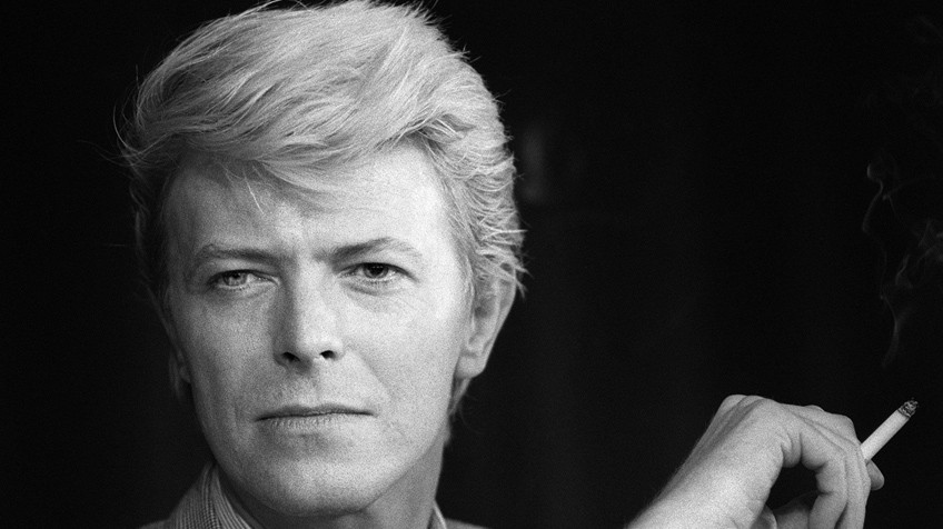 David Bowie, em 1983.